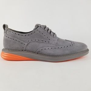 Cole Haan GrandEvolution Mens Suede Wingtip Oxford